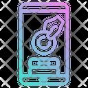 Smartphone Mobilephone Love Icon