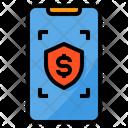Money Protection Smartphone Icon