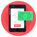 Ebanking Online Money Send Online Money Transfer Icon