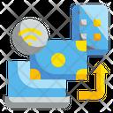 Online Money Transfer Money Password Icon