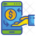 Online Money Transfer Money Transfer Transfer Icon