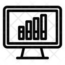 Monitor Graph Icon