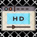 Online Movie Icon