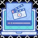 Online Movie Online Media Stream Multimedia Icon