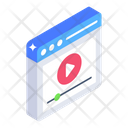 Online Movie Online Video Video Streaming Icon