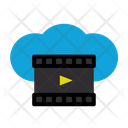 Online Movie Movie Connection Icon