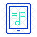 Ii Pad Online Music Online Song Icon