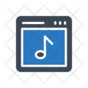 Music Online Webpage Icon