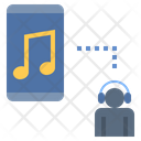 Online Music Streaming Podcast Icon