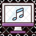 Online Music Computer Music Sound App Icon