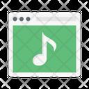 Online Music Website Icon