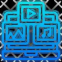 Online Music Music Multimedia Icon