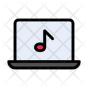Online Music Music Music Library Icon