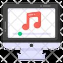 Online Music Internet Music Audio Music Icon