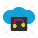 Online Music Music Connection Icon