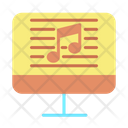 Icomputer Online Music Script Song Script Icon