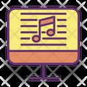 Icomputer Online Music Script Song Script Icon