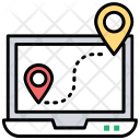 Online Navigation Icon