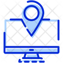 Online Navigation Map Navigation Icon