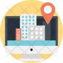 Online Navigation Services Icon