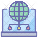 Online Network Global Network Online Connection Icon