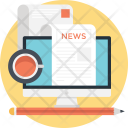 News Newspaper Print Icon