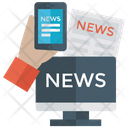 Online News Internet News Live News Icon