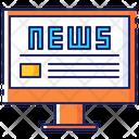 News Online Internet Icon