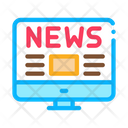 News Internet Web Icon