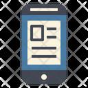 Smartphone News Online Icon