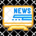 News Tv Television Icon