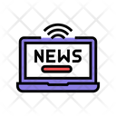 Online News Color Icon