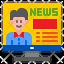 Online News News Reporter News Icon