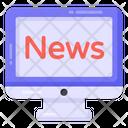 Online News Online Newspaper Online Journal Icon