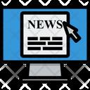 Media Computer News Icon