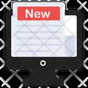 Online News Online Newspaper Digital News Icon