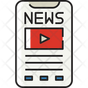 Online News News Technology Icon