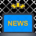 Online News Digital News Live News Icon