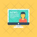 Online News E News Icon