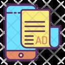 Online News Ad Icon
