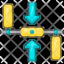 Online Node Net Network Icon