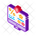Business Computer Hand Icon