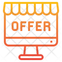 Online Offer Offer Purchase Icon