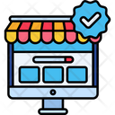Online Official Shop Icon