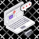 Online Order Online Shopping E Commerce Icon