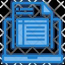 Online Order Online Receipt Online Invoice Icon