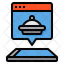 Online Order Delivery Icon