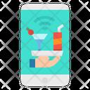 Beverage Mobile Phone Icon