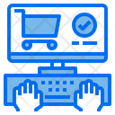 Hands Cart Screen Icon