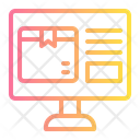 Order Truck Delivery Icon